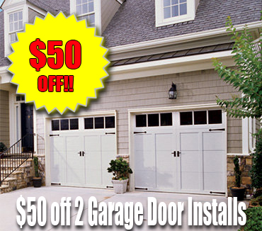 50 Off 2 Garage Door Installation