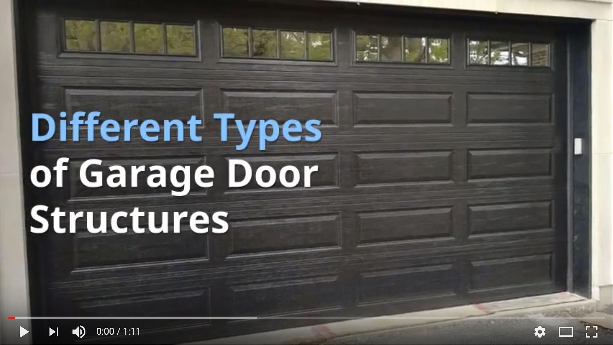 Different Types Of Garage Door Structures   Garage Door Structures Aurora IL
