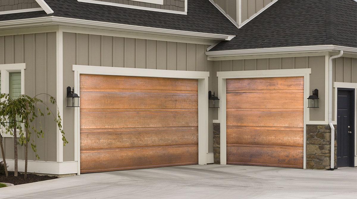Aurora Copper Garage Doors Copper Garages Professional